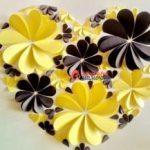 Как быстро вырезать из бумаги цветы, бабочки для украшения открыток