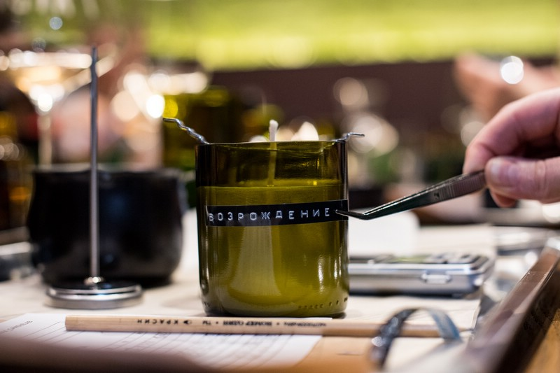 Создание соевой свечи с Rewax Lab